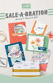 StampinUp, 2017 Sale-A-Bration Catalog, SAB Catalog, demo Lynn Tague. See more cards and gift ideas at BeyondBeachesandBlessings.com #BeyondBeachesandBlessings