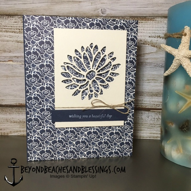 Stampin Up, CAS, Birthday Card, Special Reason Bundle, Floral Boutique Designer Series Paper, designed by Demo Lynn Tague, See more cards and gifts ideas at BeyondBeachesandBlessings.com #BeyondBeachesandBlessings