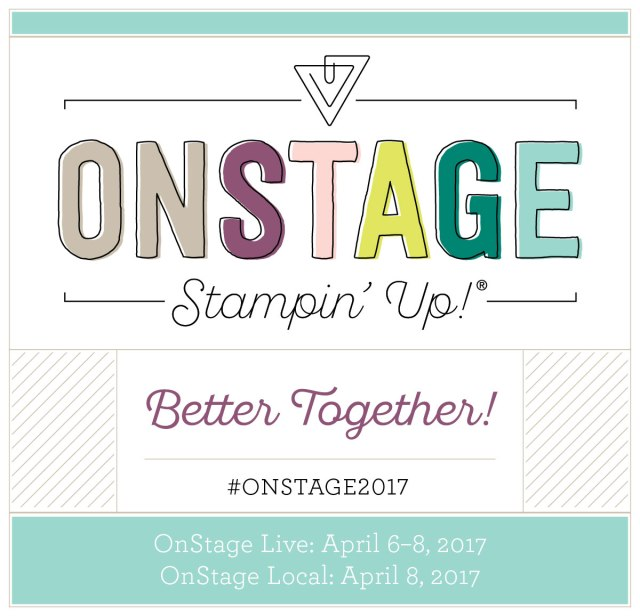 Stampin Up, OnStage, Card and Gift ideas designed by Demo Lynn Tague at BeyondBeachesandBlessings.com #BeyondBeachesandBlessings